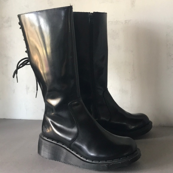 dr martens calf boots